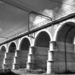 HDR BW Brücke in Limbourg / Dolhain